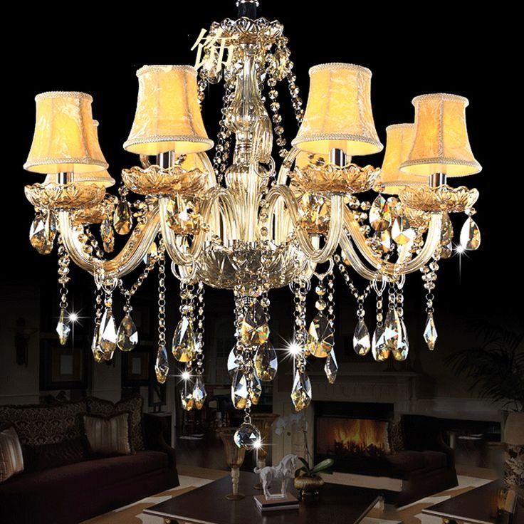 Современная люстра хрустальная люстра Люстра Crystal light освещение гостиная спальня светильники столовой купить на AliExpress