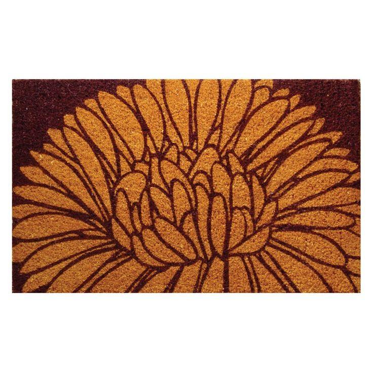 Mums 18 x 30 Hand Woven Coir Doormat | from hayneedle.com