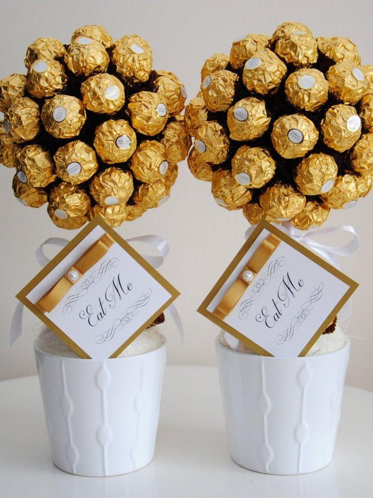 Sweet tree. Chocolate. Personalised gift, Ferrero Rocher , birthday, wedding, anniversary gifts