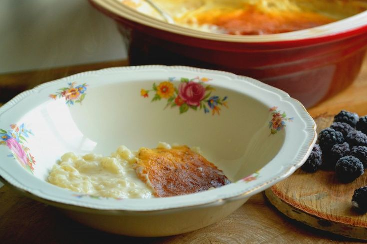 Creamy and easy rice pudding inspired by Enid Blyton's The Secret Island #foodinfiction