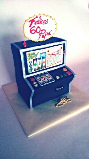 Tarta máquina tragaperras, cake slot machine