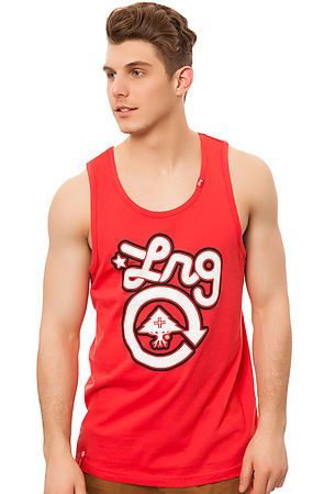 The Core Collection One Tank Top in Nantucket Red by LRG Core Collection