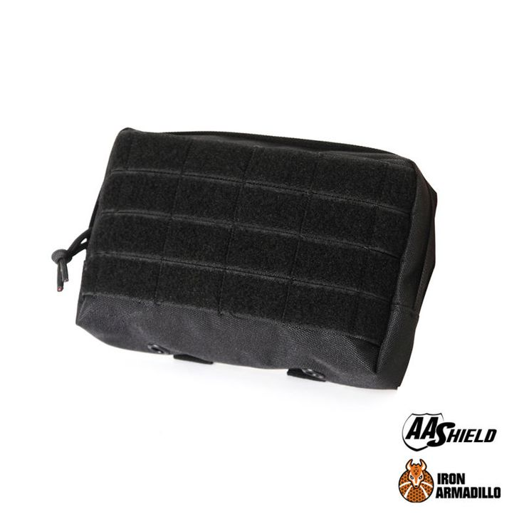 AA Shield Modular Pouch Tactical Assault Gear Molle Horizontal Utility Pouch Outdoor Bags Hunting Pouch Black