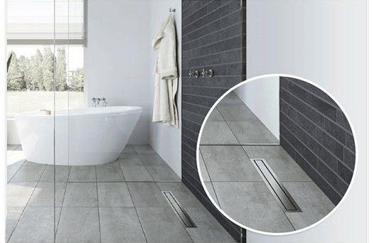 '#BanyoTrendleri2015: Özellikle küçük banyolarda bütünlüklü bir görünüm sağlamak ve mekanın daha büyük algılanması için, mevcut seramik duş alanında da devam ettiriliyor.