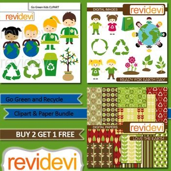 Kids recycle, go green, earth day / Clip art and digital paper bundle (3 packs).kids with globes, plant, recycle icon, trash bin, are among of the images.Perfect collection for go green theme projects.These cliparts are a great resource for teachers and educators for their school and classroom projects such as for creating bulletin board, printable, worksheet, classroom decor, craft materials, activities and games, and for more creative and fun projects.You will receive:- Each clipart saved…