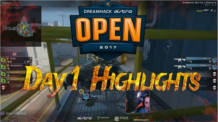 DreamHack Leipzig (Day 1 Highlights)