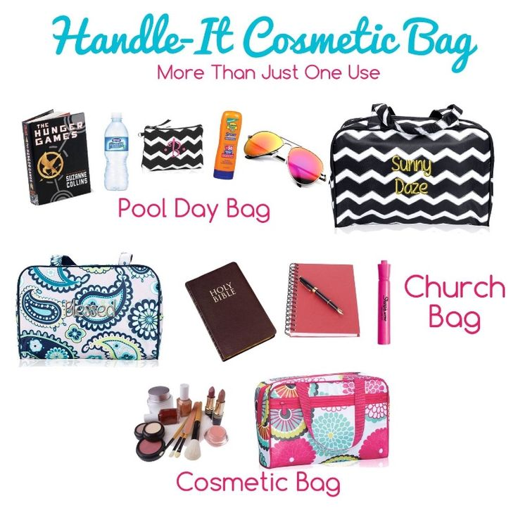 Organize with the Thirty-one cosmetic bag. Want to create your custom bag? Contact me and shop now. Just click the pic! https://www.mythirtyone.com/robynlipe