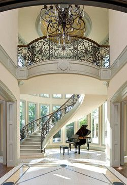 S. Lindhurst - traditional - entry - dallas - Dallas Design Group, Interiors
