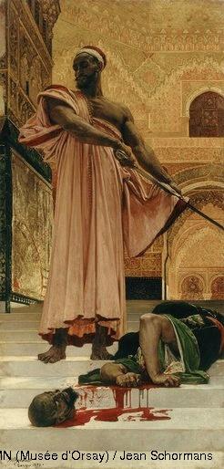 Henri Regnault (1849-1871),  Exécution sans jugement sous les rois maures de Grenade,  1870