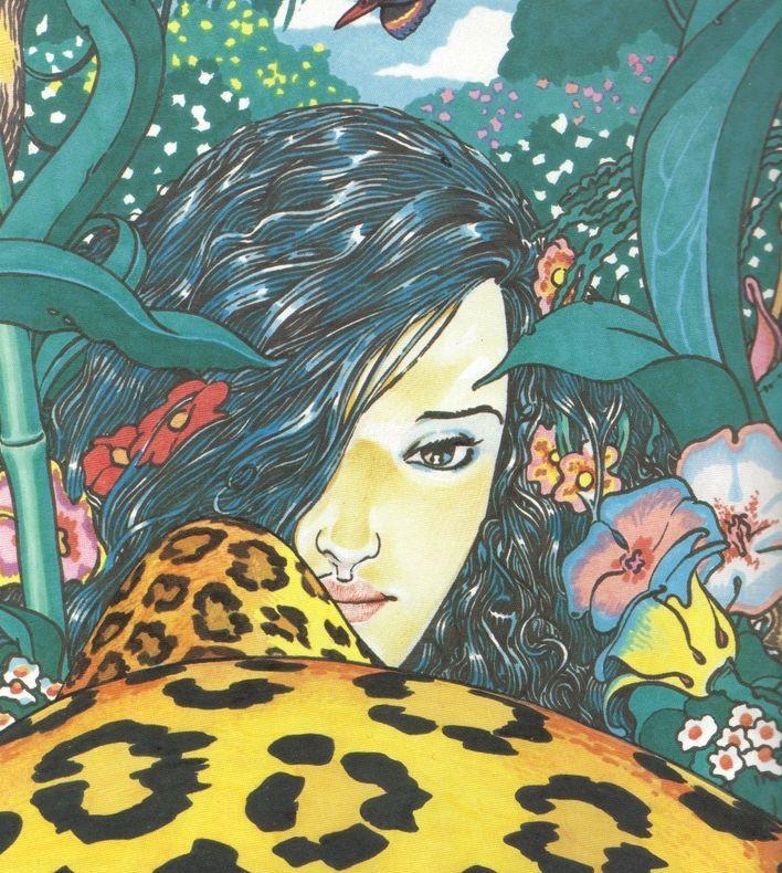 Betta con leopardo, Andrea Pazienza