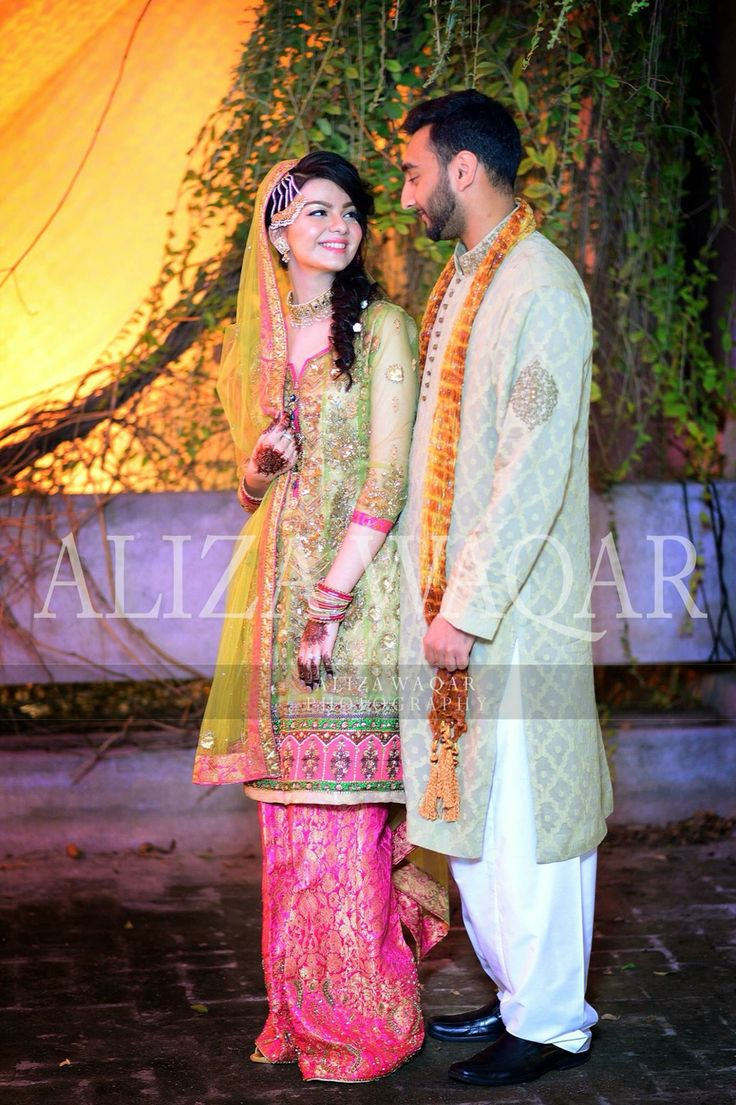 Mehndi- Pakistani couples