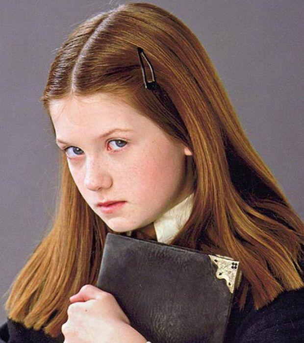 Bonnie Wright incarnait la petite Ginny Weasley, soeur de Ron.