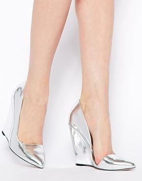 ASOS POLISHED Pointed Wedges $85.69