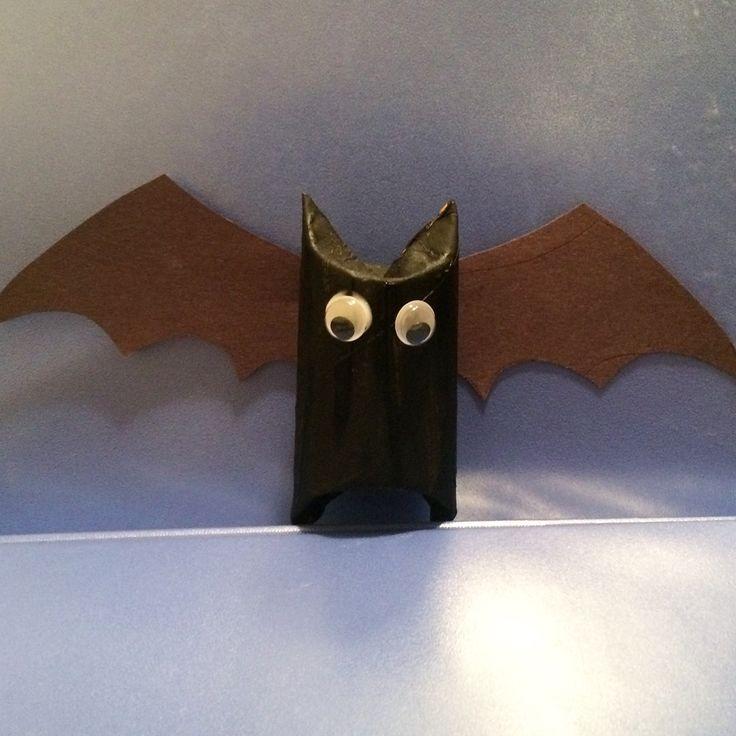 Toilet paper roll bat | Toddler Things