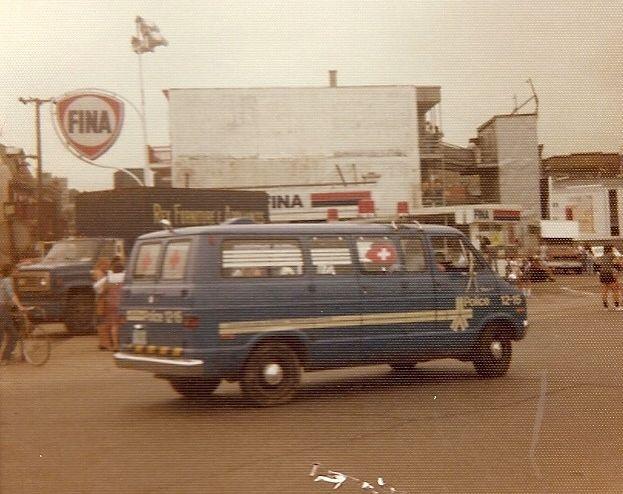 Montreal Police 1975 Dodge van