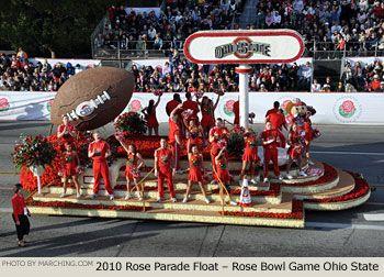 2010 Rose Bowl Parade - OSU Float