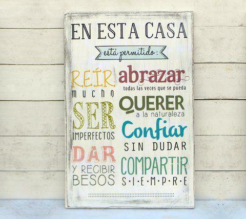 M s de 25 ideas incre bles sobre citas la pared de la familia en pinterest decoraci n de la - Carteles de cocina ...