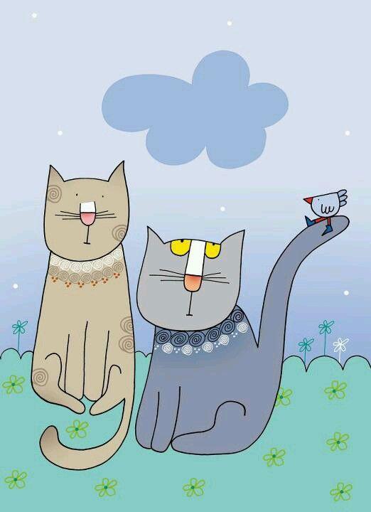 Gatti - Nicoletta Costa cats
