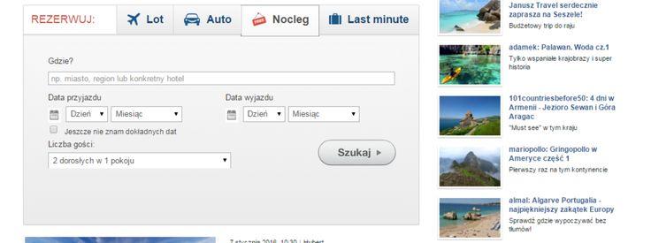FLY FOR FREE - wyszukiwarka noclegu, gdzie , od do , i liczba gości
