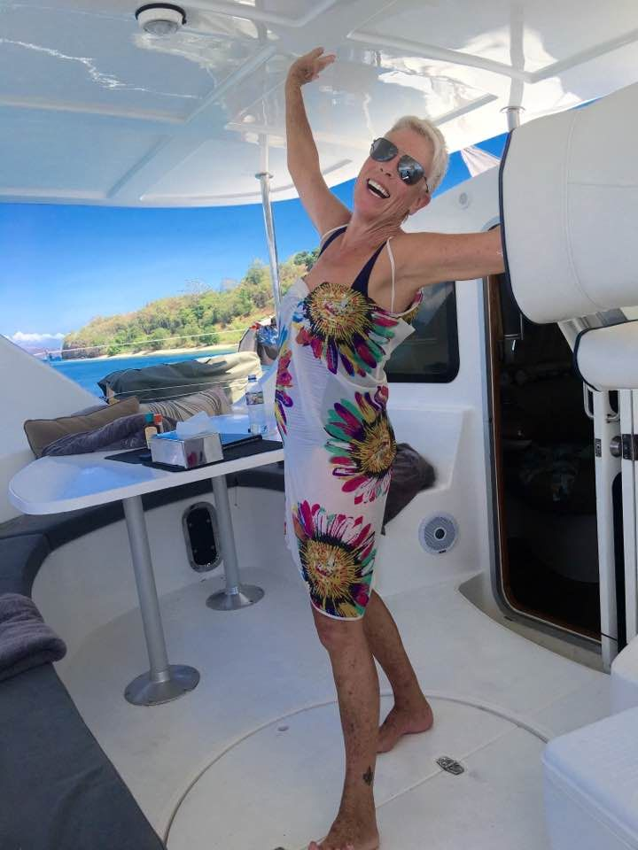 Courtesy of Sandy Valentine-Munn in #Facebook. #Jemme #bali #yacht #yachting #balilife #islands