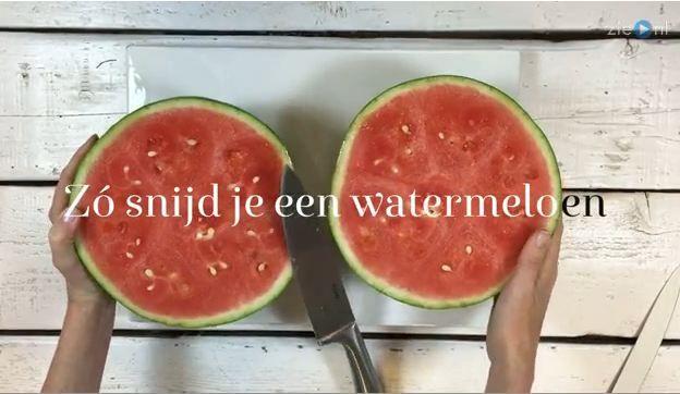 Meer dan 1000 idee n over een watermeloen snijden op pinterest watermeloen snijden van een - Stukken outs ...