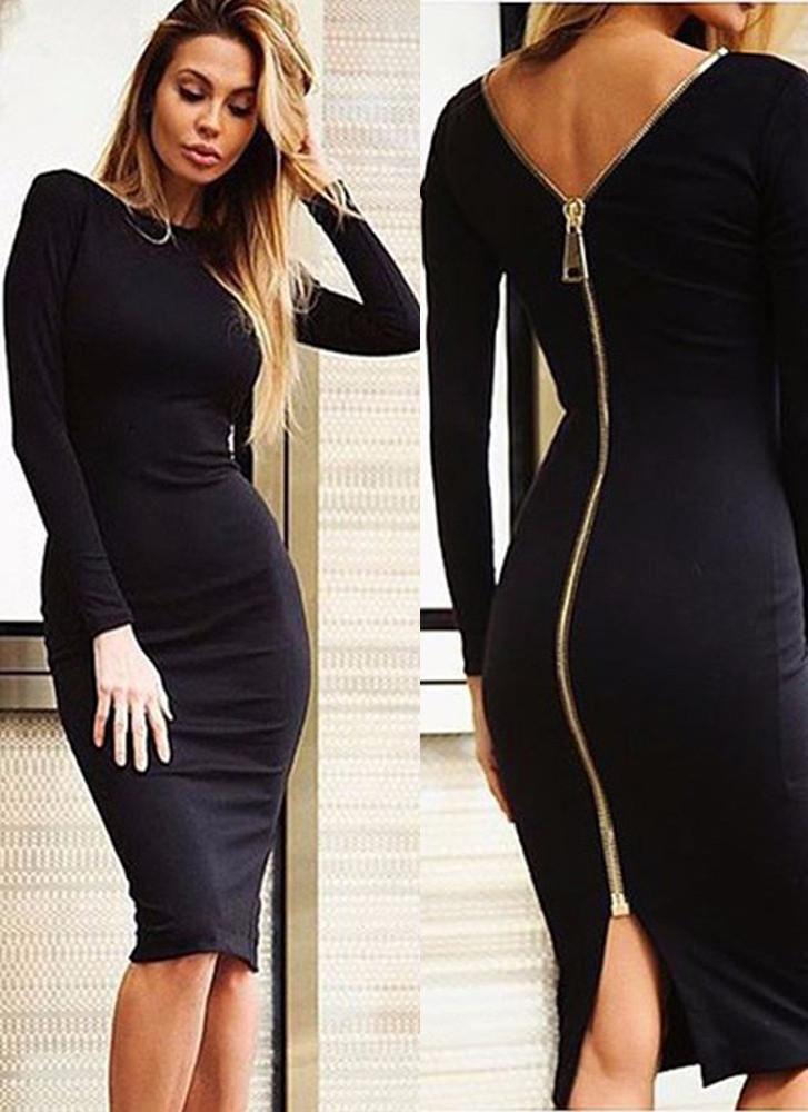 fbc99cd8a20 summer womens fashion that is fabulous. Tiana Bodycon Dress-Black - Posh  Fashion Girls