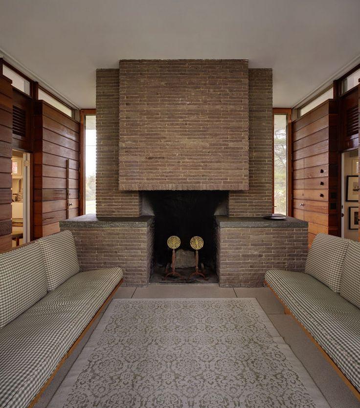 Best 25+ Midcentury fireplaces ideas on Pinterest | Brick ...