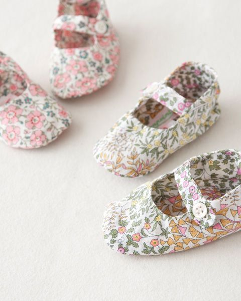 Liberty Of London Floral Baby Shoes. Baby by BellasKidsCloset