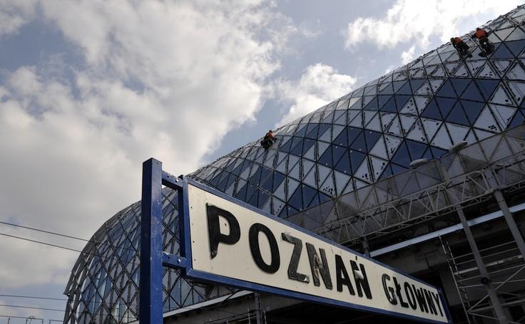 Poznan Poland, Dworzec Poznań Główny [fot.Andrzej Deja]