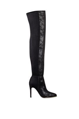 Zonian Over-the-Knee Pointed-Toe Boots   GUESS.com