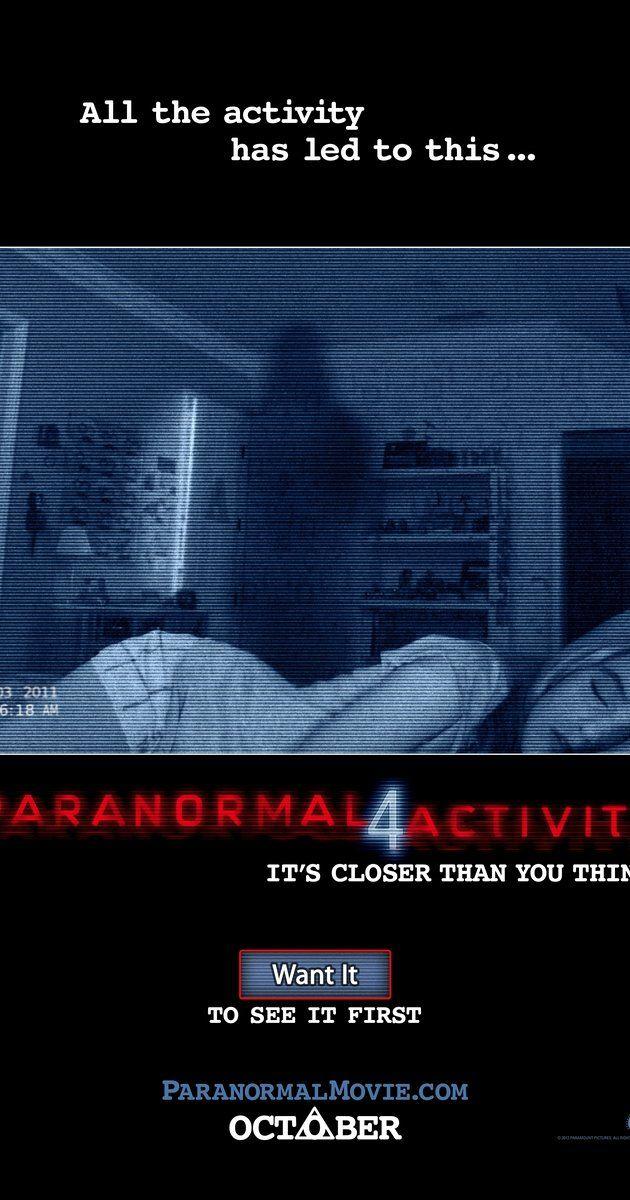 Paranormal Activity 4 (2012) - IMDb