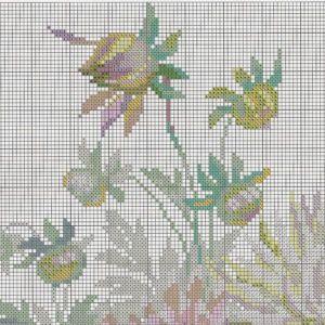 Схема вышивки Георгины (Riolis) 1 из 6