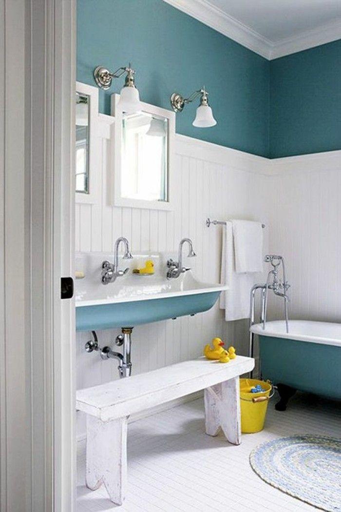 Unsere Tipps in Bildern, um einen Raum zweifarbig zu gestalten!   – Agnes Savidan