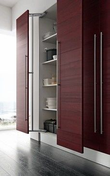 Some close up images of mechanisms and accessories for our Italian kitchen lines - contemporary - kitchen cabinets - miami - by EVAA International, Inc.