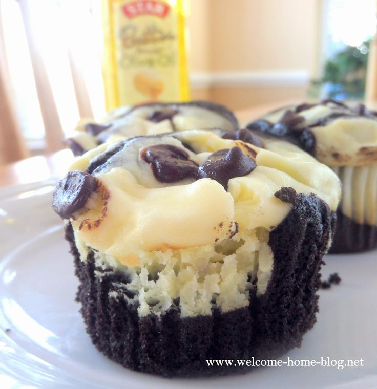 I mean who could resist a super moist, intensely chocolate cupcake with a creamy cheesecake center a...