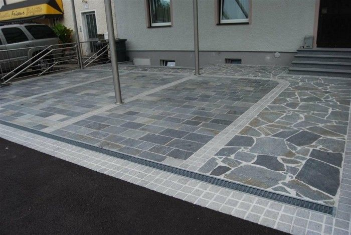 marmor gestaltung Polygonalplatten
