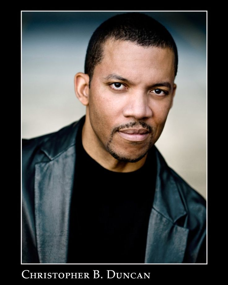 """Christopher B. Duncan, Actor: The Jamie Foxx Show. Christopher is from Colorado Springs, Colorado. He received his B.F.A. in acting from The University of Colorado, Boulder. He also worked with The Colorado Shakespeare Festival. Additional theatre credits include """"The Old Settler"""" at The Pasadena Playhouse for which he received an Ovation award nomination. """"Black Star Line"""" at The Goodman Theatre in Chicago. """"Rosetta Street"""", """"How The Other Half ..."""