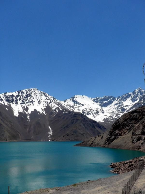Embalse el Yeso, Cajon del Maipo, Chile