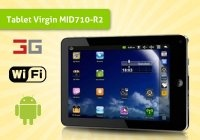 Cyber Tablet Virgin MID710-R2 3G, con schermo da 7 pollici! Tra i piu' veloci presenti sul mercato, ideale per navigare sul web, controllare la posta, guardare film, leggere libri e ascoltare musica! Solo 20 pezzi disponibili!  € 119.00
