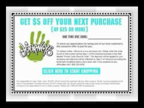 Journeys Shoes Coupons Online