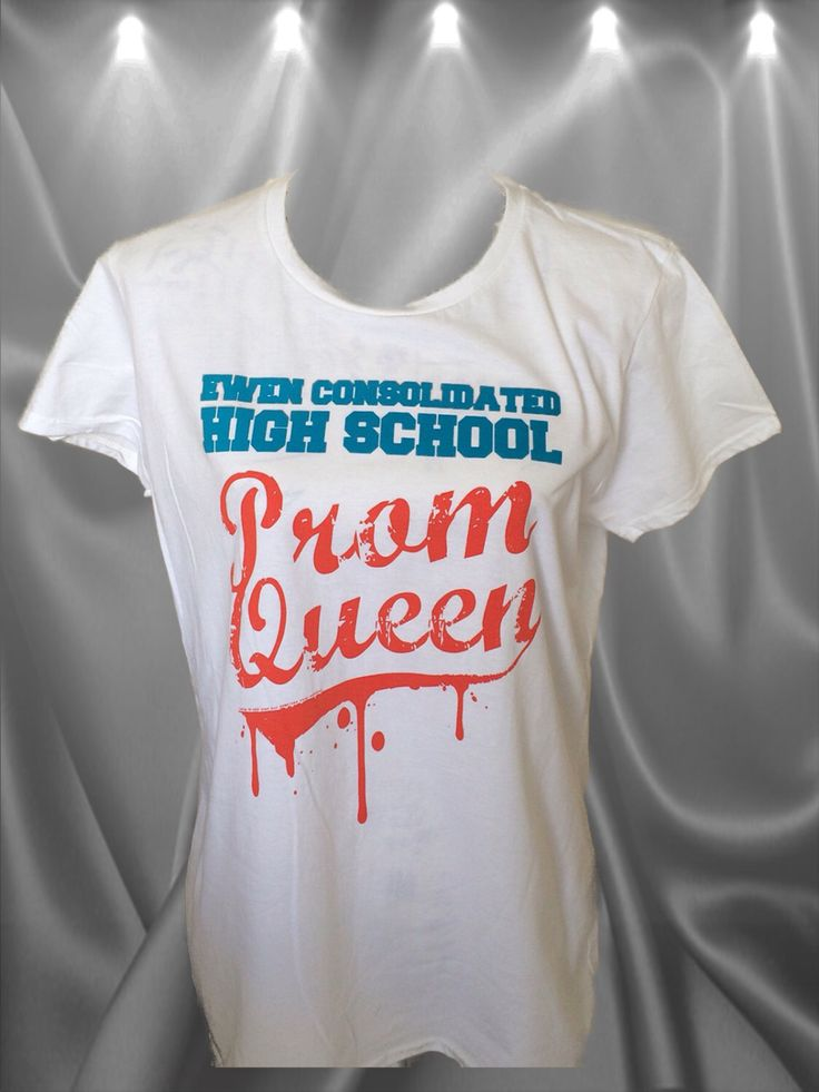 Carrie - Prom Queen - Stephen Kings 1st novel comes to life - ladies fit by NamelesscityApparel on Etsy https://www.etsy.com/uk/listing/469466849/carrie-prom-queen-stephen-kings-1st