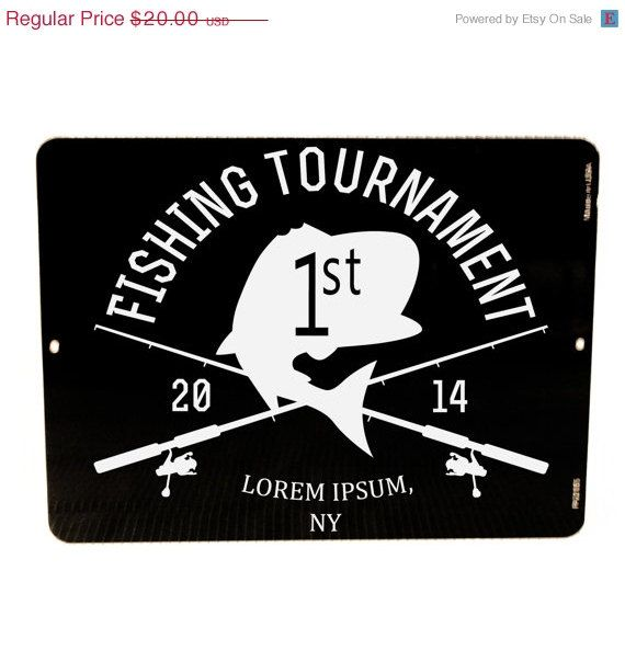 4th of July Sale - Fishing tournament trophy - Custom Fishing Sign - Personalized Fishing Sign - Fishing Camp, Father's Day Gift, Men's Birt on Etsy, $17.00