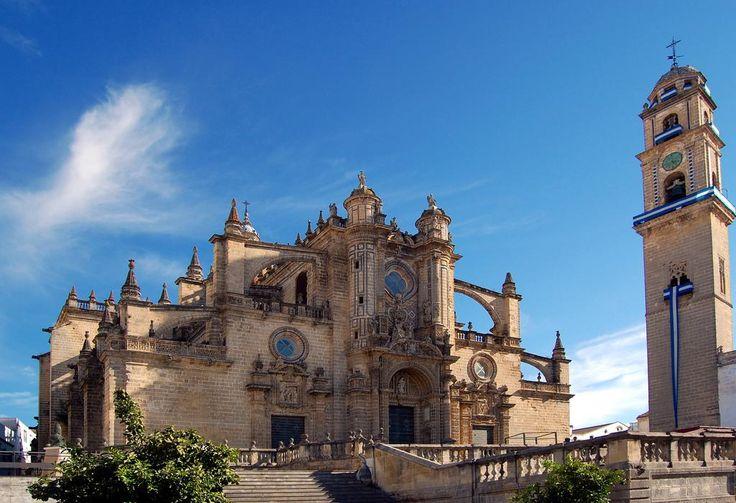 Jerez de la Frontera Cathedral. Andalucia Cycling