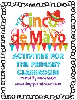 This Cinco De Mayo Primary pack has a lot of activities for the classroom or at home. It is designed for young learners (Pre-k - 2)It has 25 Pa...