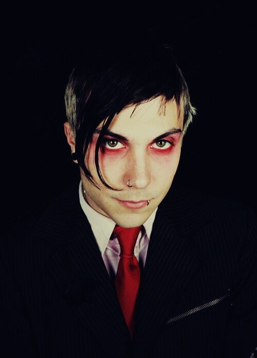 ((Fc:FRANK IERO )) Hey, I'm Knox Black. Despite my looks and my perentage, I'm super hyper. I've got a knack for a few things. Mysteries, and mischif.*Grins widly* Another thing is, I've got an abillity. I like to call it 'super deduction'. With anything like crimes I can figure out who did it. I'm basiclly Sherlock Holmes. I've got my mom to thank for that. My mom's Nemesis, the godess of balance, justice, retribution, and vengence. I play guitar and I can't live without music. Stop…