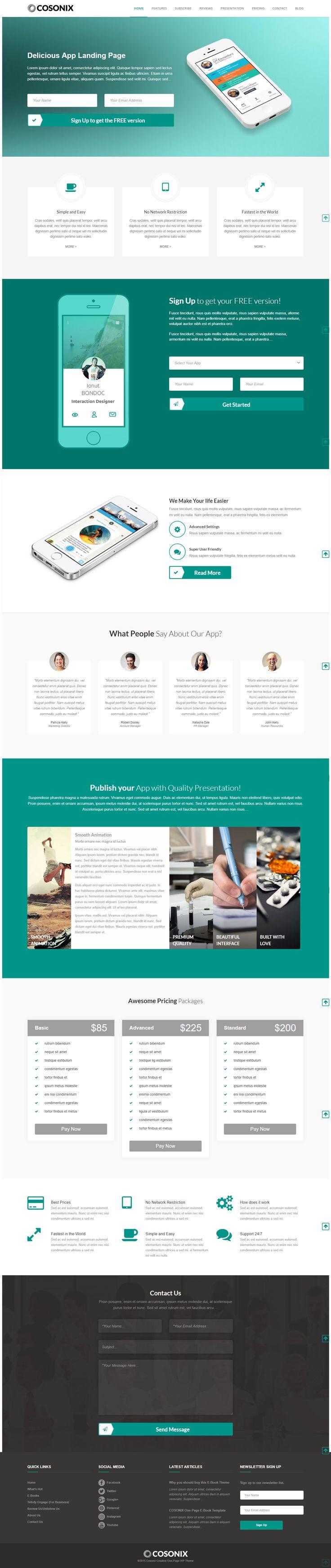 Cosonix App is a captivating WordPress