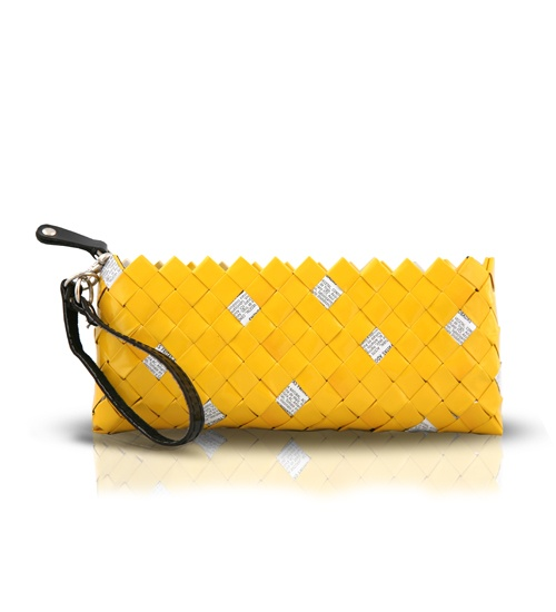 Nahui Ollin Wristlet Clutch on glamouronthego.co.uk