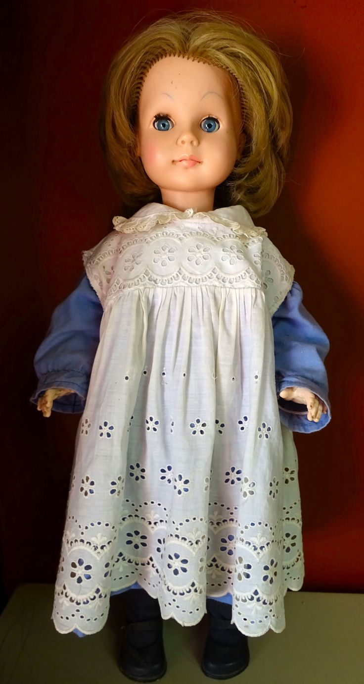Lovely plastic Crolly doll, not her original clothes