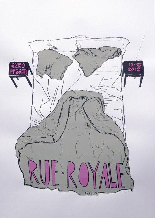 Rue Royale | GIG POSTERS | jorisdiks