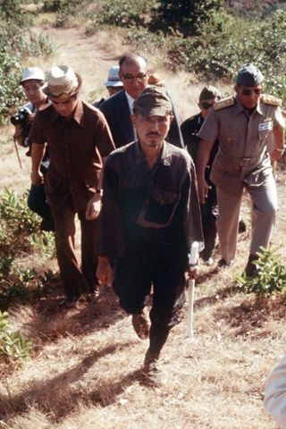 Hiroo Onoda, the last Japanese soldier to surrender after the second world war – in pictures